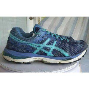 Asics Womens Gel Cumulus 17 Running Shoes Blue